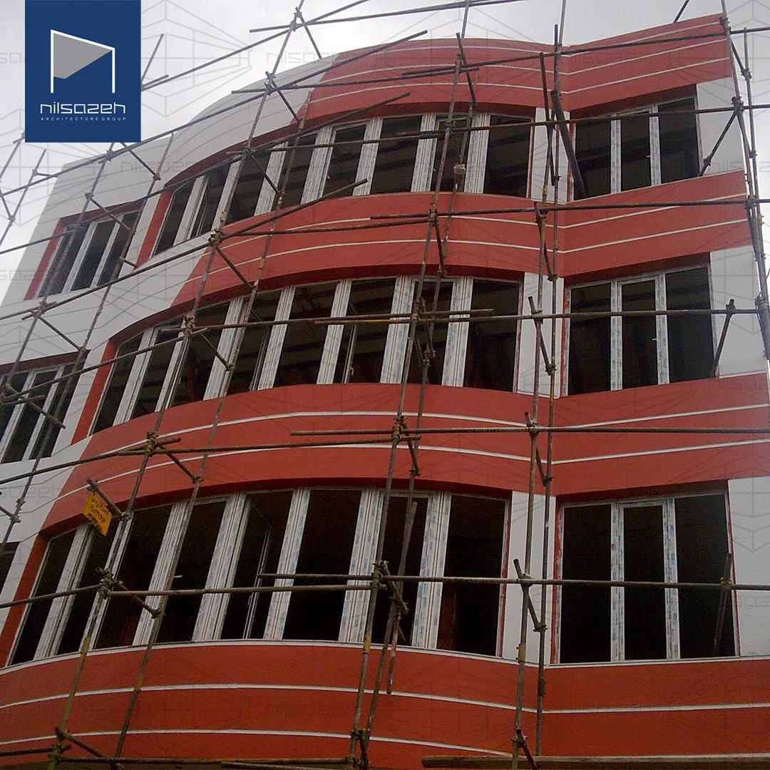طراحی و اجرای ساختمان اداری آریانا کرمانشاه