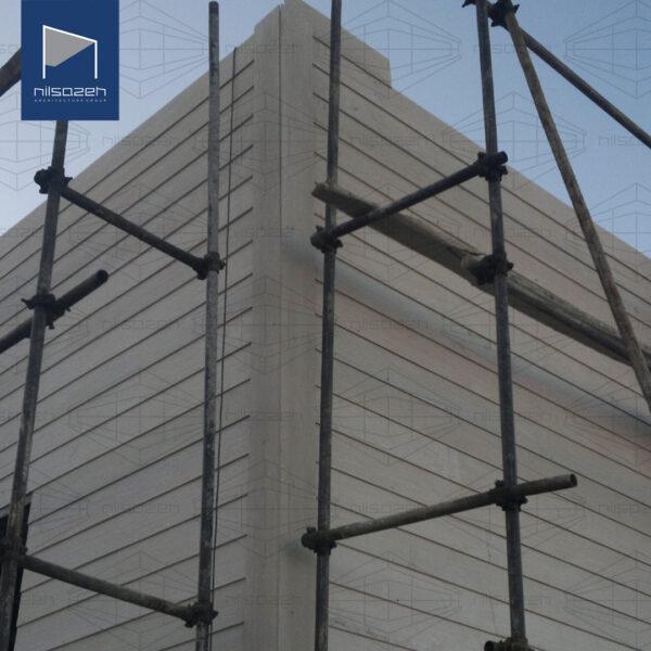 طراحی و اجرای ساختمان اداری دانشگاه آزاد همدان