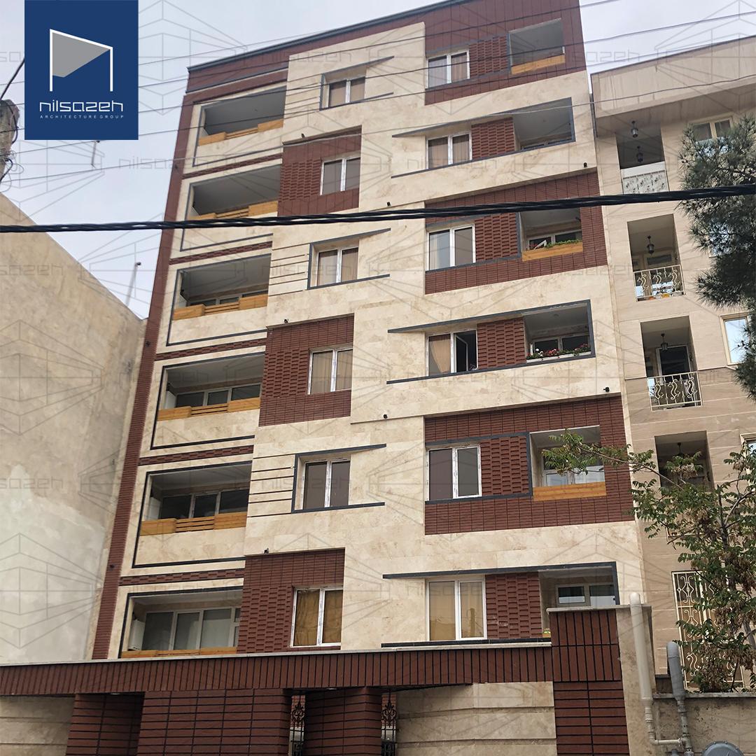 طراحی و اجرای ساختمان مسکونی رحمتی